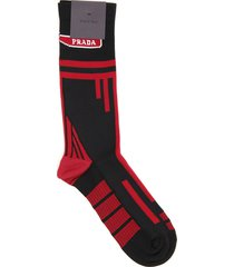 prada techno nylon socks
