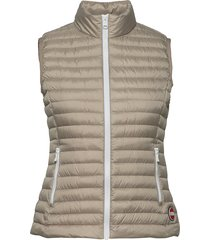 ladies down vest vest beige colmar