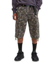 levi's men's regular-fit ripstop messenger shorts