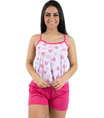 baby doll linha noite pink ab