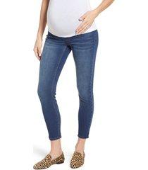 1822 denim stretch 360 ankle skinny maternity jeans, size 31 in ziggy at nordstrom