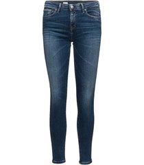 heritage como skinny skinny jeans blå tommy hilfiger