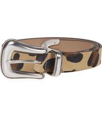 b-low the belt b. low the belt leopard belt
