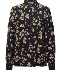 ecuba blouse lange mouwen zwart pennyblack