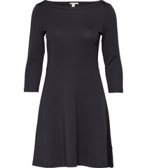 dresses knitted dresses knitted dresses svart edc by esprit