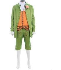 europe mediaeval romeo stage tuxedo party costume prince men halloween suit