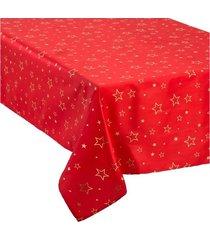 obrus świąteczny christmas red 360x140 cm