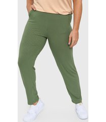 pantalón verde vindaloo babucha ester