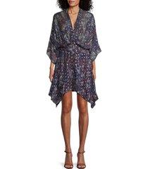 iro women's ariakespe blouson dress - purple - size 34 (2)