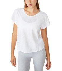 cotton on lifestyle twist back t-shirt