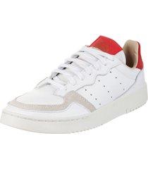 zapatilla  blanca  adidas originals supercourt