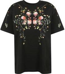 burberry carrick flowers t-shirt
