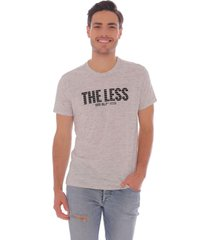 camiseta at home gris - hombre
