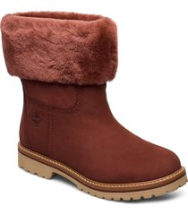 chamonix valley wp f/d shoes boots ankle boots ankle boot - flat brun timberland
