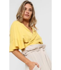 blusa amarilla mancini renata