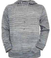moletom quiksilver canguru especial tricot masculino