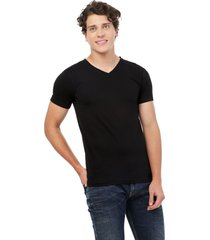 camiseta negra manpotsherd t-shirt