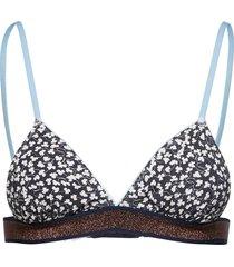 twiggie nora lingerie bras & tops bra without wire blå becksöndergaard