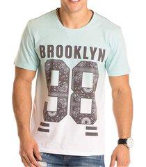 camiseta masculina brooklyn 98 total sublimada ecolã³gica - area verde - multicolorido - masculino - dafiti