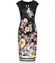 abito a fiori (nero) - bodyflirt boutique