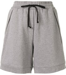 3.1 phillip lim relaxed track shorts - grey