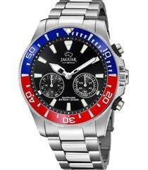 reloj actual rojo jaguar