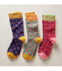 gloria socks, set of 3