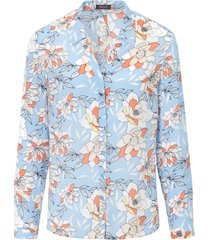 blouse met lange mouwen en bloemimpressies van basler multicolour