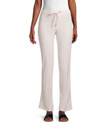 james perse women's drawstring pants - drop - size 2 (m)