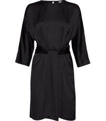 angelica dress knälång klänning svart twist & tango