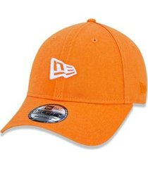 boné 940 branded aba curva snapback laranja new era