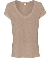 maglia in lino (marrone) - bodyflirt