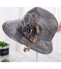 sombrero de tela para mujer moda protector solar de alto grado sombreros