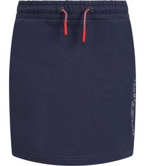 tommy hilfiger blue skirt for girl with logo