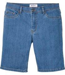 bermuda in jeans sostenibili con poliestere riciclato (blu) - john baner jeanswear