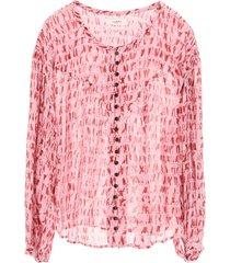 isabel marant étoile sorionea printed shirt