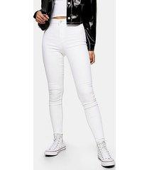 opaque white joni skinny jeans - white