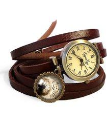 bransoletka zegarek skórzany dmuchawiec -0126