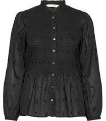 melinda blouse blouse lange mouwen zwart odd molly
