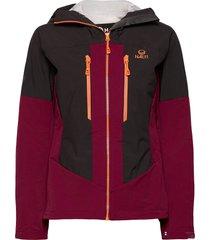 pallas warm hybrid w jacket outerwear sport jackets röd halti