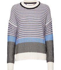 edaiw pullover gebreide trui multi/patroon inwear