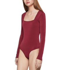 bcbgeneration square-neck bodysuit