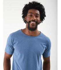 t-shirt zinzane stone corta a fio masculina - masculino