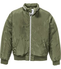 bomber imbottito leggero (verde) - john baner jeanswear