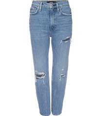 hudson women's holly high-rise cropped bootcut jeans - brightside - size 33 (12)
