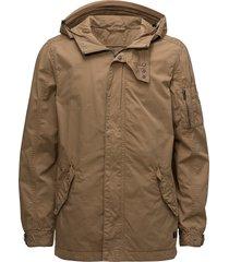 outerwear parka jacka brun blend