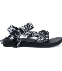 arizona love trekky bandana sandals - black