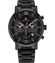 reloj tommy hilfiger 1710410 negro -superbrands