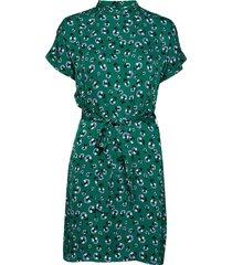 blumea short dress aop 8325 korte jurk groen samsøe & samsøe