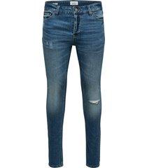 skinny jeans ons extreme warp blue